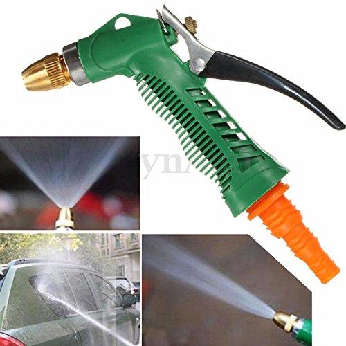 Nozzle High Pressure Water Gun Sprayer Metal Hose Pipe Garden Auto Car Washing (Squeegee Steam X 5 compare prices)