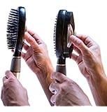 Qwik-Clean Hair Brush - Self-Cleaning, Easy Clean Hair Brush