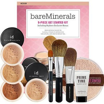 Details for bareMinerals Get Started Kit - Fair 9-Piece Kit from Bare Escentuals