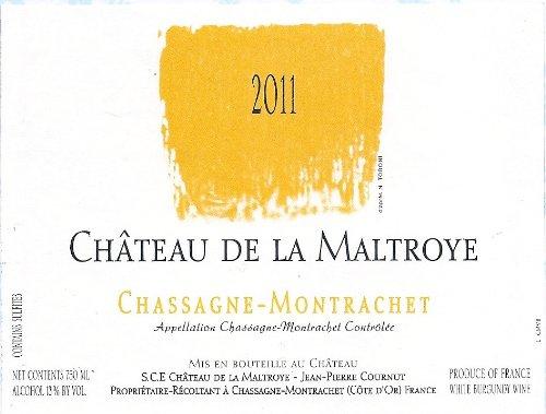 2010 Château De La Maltroye Blanc, Chassagne-Montrachet 750 Ml