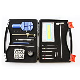 LB1 High Performance New Watch Repair Tool Kit for TAG Heuer Watches - 19 in 1 Professional Watch Repair Tool Set
