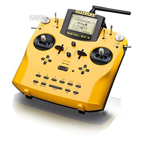 multiplex-royal-sx-action-mando-a-distancia-pulsadores-amarillo-especial-lcd-132-x-64-pixeles-nickel