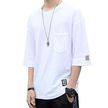 SYMUOQING Tシャツ メンズ 半袖
