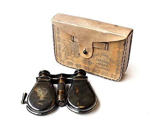 Classic Marine Spy Glass Antique London 1857 R & J Beck Brass Binocular Collectibles Gift 6