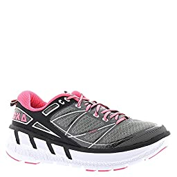 Hoka One One Odyssey Womens Running 11 B(M) US Grey-Pink