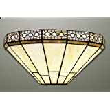 Mission Stained Glass Tiffany Wall Light
