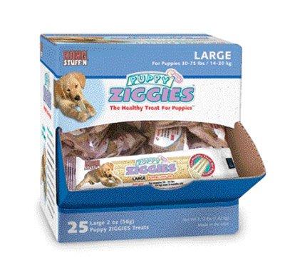 Kong Puppy Ziggies Z-Cube, Large, 25 Per Pack
