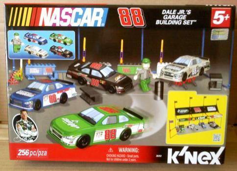Nascar Dale Jr's Garage Building Set