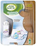 Air Wick Freshmatic Compact Automatic Spray Wood Touch of Luxury Crisp Linen and Lilac 24 ml (Pack of 2)