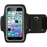 """Minisuit SPORTY Armband + Key Holder for Apple iPhone 6 (4.7"""") Black"""