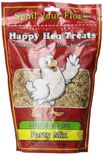 Happy Hen Treats Party Mix Mealworm and Oats, 2-Pound