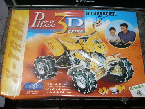 Puzz 3d Extra Bombardier Ds 650 - 1
