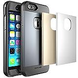 Estuche SUPCASE para iPhone 6 Plus,  todo el cuerpo del estuche es resistente al agua, de 5.5 pulgadas con protector de pantalla y 3 estuches intercambiables incluidos.