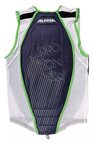 ALPINA Erwachsene Rückenprotektor Jacket Soft Protector, Anthracite, >185 cm, A8853828