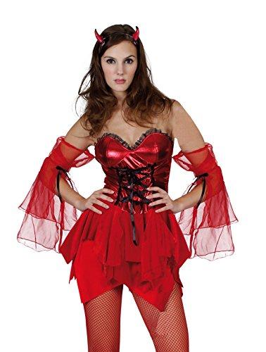 Boland 87363 - Kostüm Teufelin, Einheitsgröße 36-42