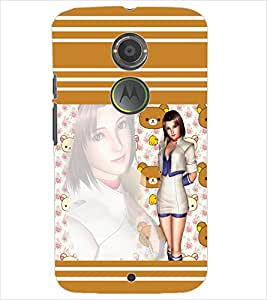 PrintDhaba SHADOW D-6931 Back Case Cover for MOTOROLA MOTO X2 (Multi-Coloured)