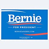 Bernie Sanders for President 2016 Rally Sign (Blue)