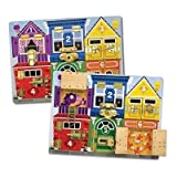 Melissa & Doug Deluxe Latches Board Toy/Game/Play Child/Kid/Children