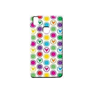 BLUEDIO Designer Printed Back case cover for VIVO V3 - G4734