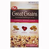 Great Grains Cranberry Almond Crunch, 14-Ounce (Pack of 4)