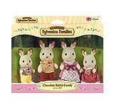 Sylvanian Families - 3125 - Mini-poupée - Famille Lapin Chocolat