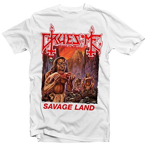 Kumiu Gruesome - Savage Land T Shirt (White)