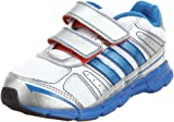 Adidas adifast CF I Kinder Schuhe running white-prime blue-metallic silver - 21