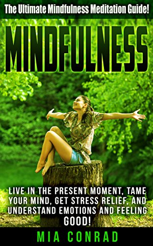Mindfulness: The Ultimate Mindfulness Meditation Guide! – Live In The Present Moment, Tame Your Mind, Get Stress Relief, And Understand Emotions And Feeling … Feeling Good, Emotional Intelligence)