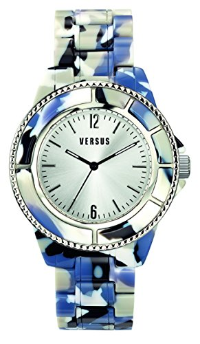 Versus by Versace Women's SF7050014 Miami Analog Display Quartz Black Watch