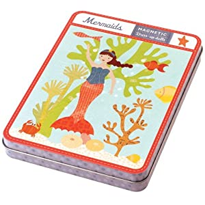 Mudpuppy Mermaids Magnetic Figures
