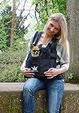 Hundetrage Puppy Bag Antrazit-Melange