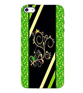 PrintDhaba Pattern D-2692 Back Case Cover for APPLE IPHONE 4 (Multi-Coloured)