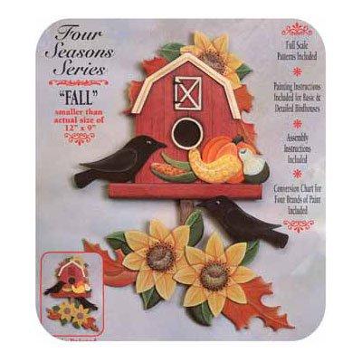 Autumn Barn Tole Project Kit (Woodworking Kit)