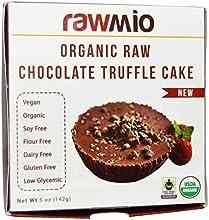 Rawmio Organic Vegan Raw Chocolate Truffle Cake - 2 Packs of 5 oz