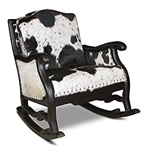 Amazon.com - Country Road Hoss Cowhide Rocking Chair -