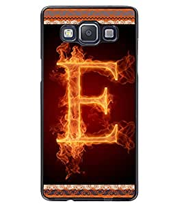 Fuson 2D Printed Alphabet E Designer back case cover for Samsung Galaxy A5 - D4194
