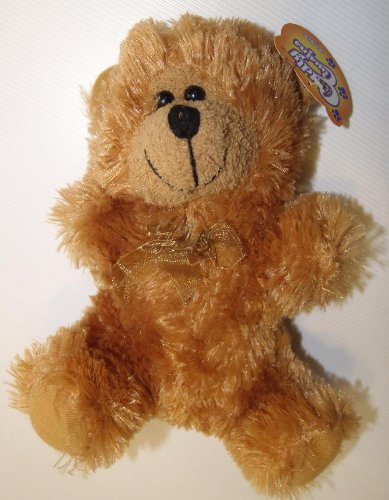 "Cuddly Cousins 9"" Teddy Bear (Color - Copper/Rusty Brown) - 1"