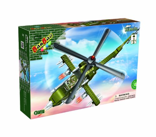 BanBao Apache Toy Building Set, 231-Piece