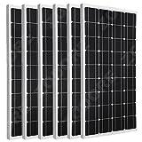 Sonnenkollektor-ZODORE-6-Pcs100-Watt-100w-Monocrystalline-Photovoltaic-PV-Sonnenkollektor-Modul-12V-Batterielade-fr-Wohnmobile-Caravan-Boat-Wohnmobil-oder-Yacht-fr-Insel-Backup-Solarstromanlagen-100-w