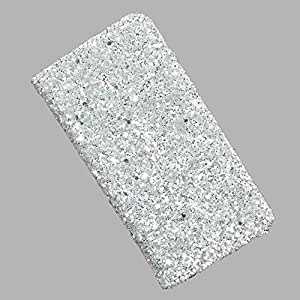 i-KitPit PU Leather Wallet Flip Case Cover For Karbonn A6 (White)