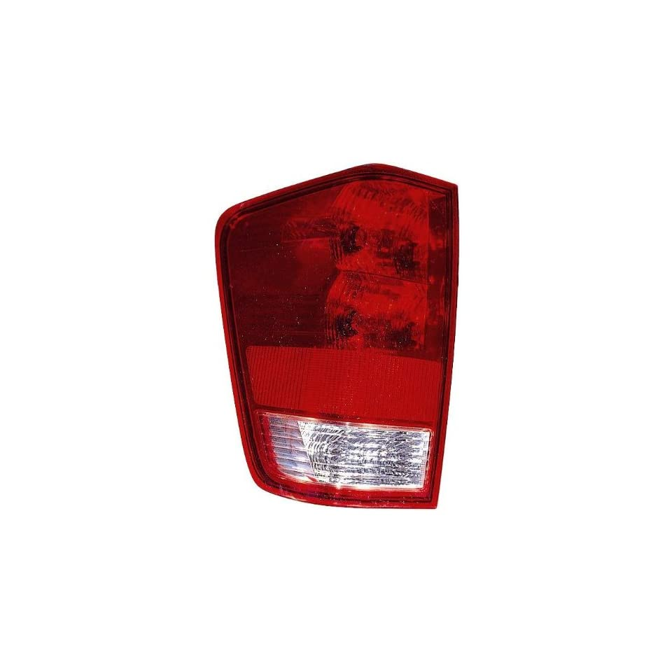 Depo 315 1948L US Nissan Titan Driver Side Replacement Taillight Unit without Bulb