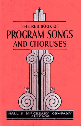 The Red Book of Program Songs and Choruses PDF