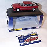 Corgi vanguards rover SD1 3500 vitesse targo red car 1.43 scale diecast model
