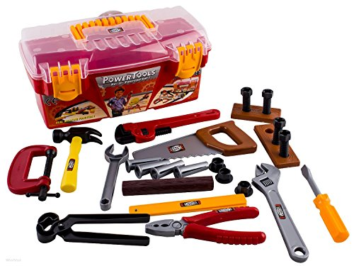 WolVol-26-piece-Tool-Box-Set-with-Removable-Tool-Tray-Great-Gift-Toy-for-Boys