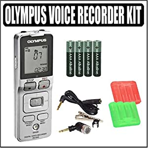 Olympus VN-5000 Digital Voice Recorder + Accessory Kit