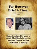 Image of For However Brief A Time, 2nd Edition (2012)
