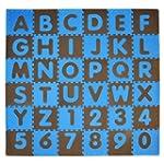 Tadpoles Playmat Set 36-Piece ABC, Bl...