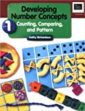 Developing Number Concepts, Book 1: Counting, Comparing, and Pattern by Kathy Richardson unknown Edition [Paperback(1999)]