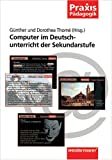 img - for Computer im Deutschunterricht der Sekundarstufe. book / textbook / text book