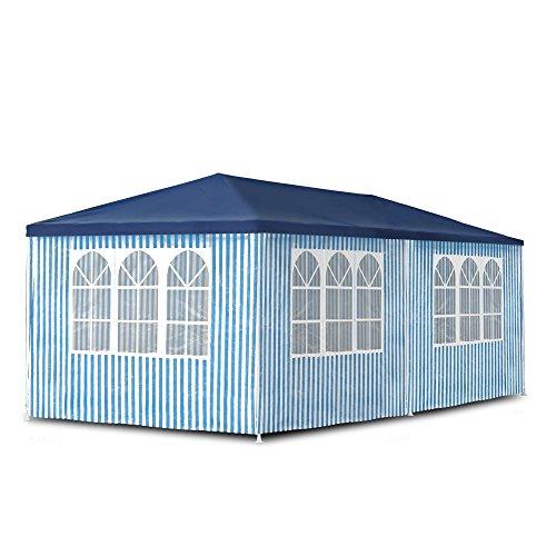 gartenpavillon 3 x 6 m pavillon pavillion partyzelt. Black Bedroom Furniture Sets. Home Design Ideas